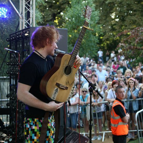 Ed at Ipswich Music Day 2010